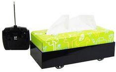 Robot Tissue Box! www.saleyeti.com
