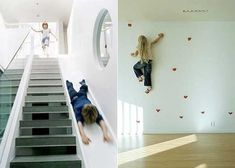 I would use the slide a LOT!! Always wanted a slide inside my house!