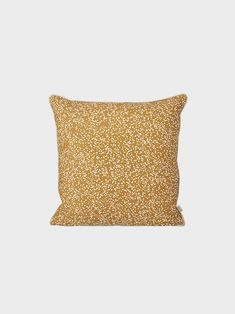Dottery Cushion - Curry