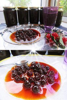 Βύσσινο γλυκό του κουταλιού !!!! ~ ΜΑΓΕΙΡΙΚΗ ΚΑΙ ΣΥΝΤΑΓΕΣ 2 Greek Desserts, Panna Cotta, Alcoholic Drinks, Sweets, Ethnic Recipes, Food, Club, Dulce De Leche, Gummi Candy