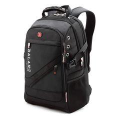 ee6df740010d2 Men's Laptop Backpack Men's Travel Bag Waterproof Shoulder Bags for  Computer Sch