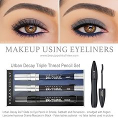 Makeup Tutorial Using Eyeliners only - super easy and practical