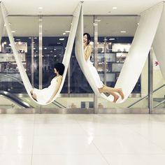 gordana minic: Ryuji Nakamura Architects - Bench Between Pillars