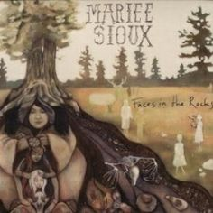 Mariee Sioux / Faces in the Rocks