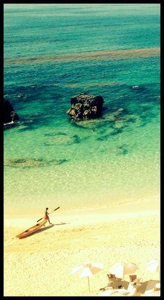 Perfect water for a kayak ride! #bermuda