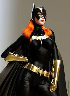 Batgirl : Barbara Gordon by KRTArt on DeviantArt Batgirl Cosplay, Batman And Batgirl, Batgirl Costume, Batman Batmobile, Superhero Cosplay, Dc Comics Art, Comics Girls, Comic Book Characters, Comic Character