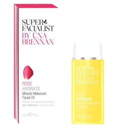 Superfacialist Rose Miracle Makeover Facial Oil 30ml - Boots