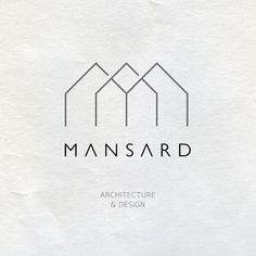 Mansard is a Tbilisi based architectural studio. After choosing a name the main objective was to create a clean and minimal logo design.