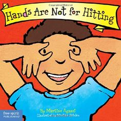 Hands Are Not for Hitting (Board Book) (Best Behavior Series) by Martine Agassi Ph.D.