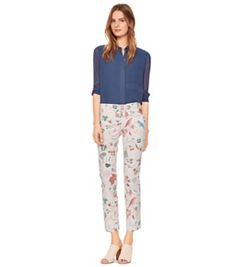 Tory Burch Relaxed Chino