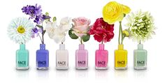 FACE Stockholm Nail Polish - buy this set at a discounted price and give a bottle to each of your friends! Tucked inside a @greetabl, this will make a perfect holiday present.