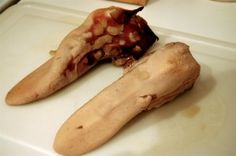 Cooked Beef Tongue, from Caroly Blymire's French Laundry at Home How To Cook Venison, Venison Meat, Venison Recipes, Kids Cooking Recipes, Oven Cooking, Haitian Food Recipes, Mexican Food Recipes, Beef Tongue