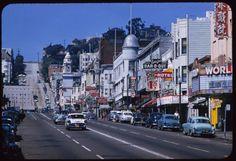San Francisco, 1953-58.