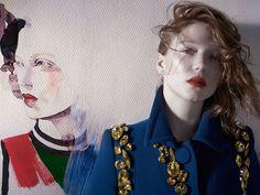 Léa Seydoux By Michelangelo Di Battista For Vogue Italia February2014 - 3 Sensual Fashion Editorials | Art Exhibits - Anne of Carversville ...