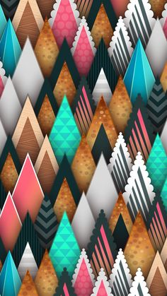 Digital Art Abstract Mobiles Ideas For 2019 Unique Wallpaper, Cute Wallpaper Backgrounds, Colorful Wallpaper, Flower Wallpaper, Pattern Wallpaper, Iphone Wallpaper, Chevron Wallpaper, Abstract Digital Art, Abstract Art