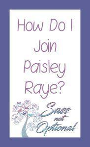 Join Paisley Raye! H