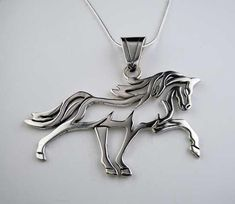 Horse Necklace Horse Jewelry Equestrian Necklace Horse By Equestrian Jewelry, Equestrian Boots, Horse Jewelry, Equestrian Outfits, Equestrian Style, Equestrian Fashion, Turquoise Jewelry, Silver Jewelry, Silver Earrings