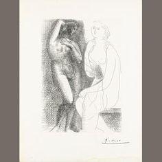 Pablo Picasso (Spanish, 1881-1973) Estimate: £8,000 - 12,000 €9,900 - 15,000 US$ 12,000 - 19,000