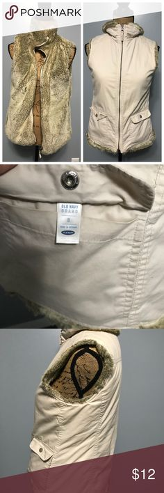 Old Navy Reversible women's vest In excellent condition. No tears or stains. Size states small fits medium. Old Navy Jackets & Coats Vests