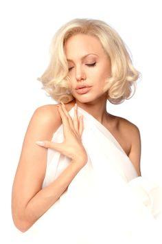 Angelina Jolie by Douglas Kirkland. WOW those fingernails scare me!!!!