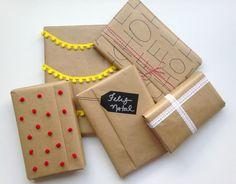 Embrulhos criativos para o natal > www.youtube.com/semmoldura