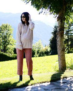 Pink Autumn 🌸 🍃 🍂  #vogavoe #ootd #pregnantstyle #pregnant #maternitystyle #babybump #stylethebump #ootd #autumn