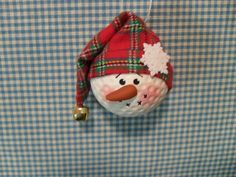 Handmade Golfball Ornament by Suzyscreations2 on Etsy, $8.00