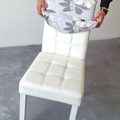 Decorative chair cover - These highly stretchable chair covers are made of elastic fabric. This is suitable for medium & lar - Diy Furniture Videos, Diy Furniture Couch, Diy Furniture Plans, Upcycled Furniture, Home Decor Furniture, Furniture Projects, Stretch Chair Covers, Seat Covers For Chairs, Large Chair