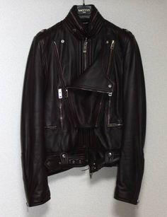 """paleshadows:  DIOR HOMME FW04 """"VICTIM OF THE CRIME"""" LEATHER JACKET"""