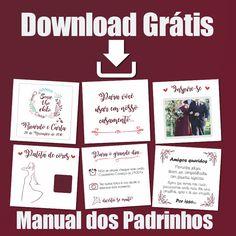 Baixe gratis seu  manual dos padrinhos, confira no site agora!