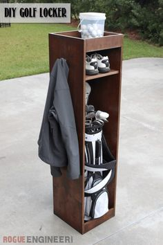 DIY Golf Bag Caddy | Free Plans | Rogue Engineer
