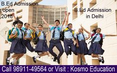 There are several establishments and schools that offer B.Ed admission in Delhi but finding the correct one which is completely affiliated is critical to appreciate quality education.