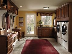 If I had a laundry room like this, I might not hate doing laundry quite as much!