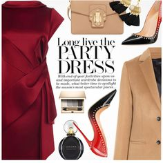 A fashion look from December 2017 featuring Karen Millen dresses, Joseph coats and Dolce&Gabbana clutches. Browse and shop related looks.