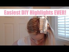 THE BEST & EASIEST DIY HIGHLIGHT VIDEO EVER | skip2mylou - YouTube