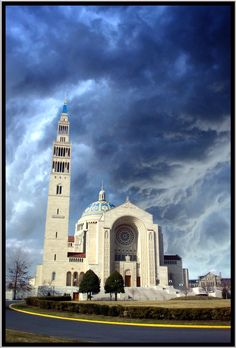 Washington DC ~ Basilica of the National Shrine of the Immaculate Conception ~ Largest in the USA
