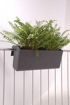 balkonkasten aus polyrattan 50 cm balkonk sten mal anders pinterest. Black Bedroom Furniture Sets. Home Design Ideas