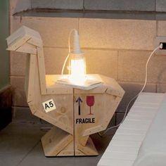 Table de chevet design et originale #bedroom #night #design #seletti