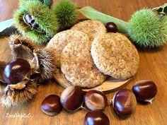 Galletas de Castañas Coconut Cookies, Sweet And Salty, Sin Gluten, Cupcake Cookies, Cookie Bars, Crackers, Love Food, Cookie Recipes, Recipies