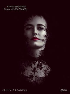 Penny Dreadful,  Eva Green as Vanessa Ives