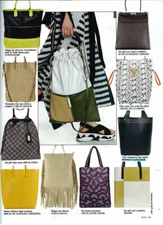 Telva Spain - March 2015 VIKOI style #shoppingbag #robertclergerie #muse