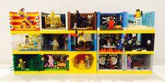 These Lego series 12 minifigure habitats are perfect .