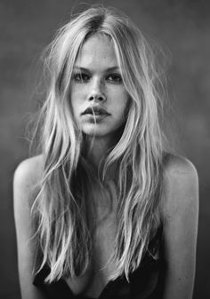 pinterest.com/fra411 #face - Emma Stern Nielsen @ Silent Models