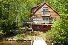 House in Denmark, United States. A comfortable home near Bridgton, Fryeberg and Naples, ME, on lovely Hancock Pond. 100 feet direct waterfront access with shallow entry, private dock and swim float. Canoe and kayaks for use. Open floor plan for entertaining. Lakeside fire pit.  O... - Get $25 credit with Airbnb if you sign up with this link http://www.airbnb.com/c/groberts22