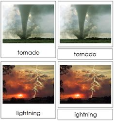 Weather Nomenclature - Cards Weather Cards, Weather Unit, Title Card, Aurora Borealis, Learn English, Kids Learning, Lightning, Northern Lights, Activities