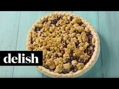 Peanut Butter and Jelly Pie - Delish.com