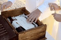 What is the Love Letter & Wine Box Ceremony – Sample Ceremony