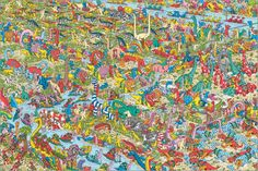 Where's Wally - Jurassic Games #wimmelbild #hiddenobject