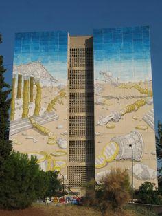 Mejores artistas callejeros: BLU (VIDEO) | Arte Callejero