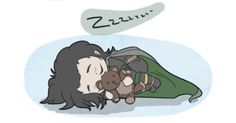 Sleepy Loki, so darn cute!